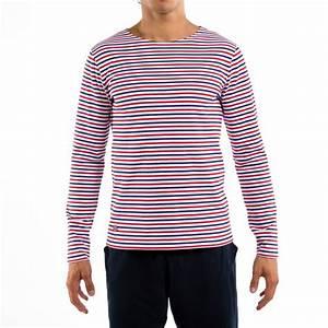 T Shirt Bleu Blanc Rouge : le malo bbr t shirt marini re bleu blanc rouge homme ~ Nature-et-papiers.com Idées de Décoration