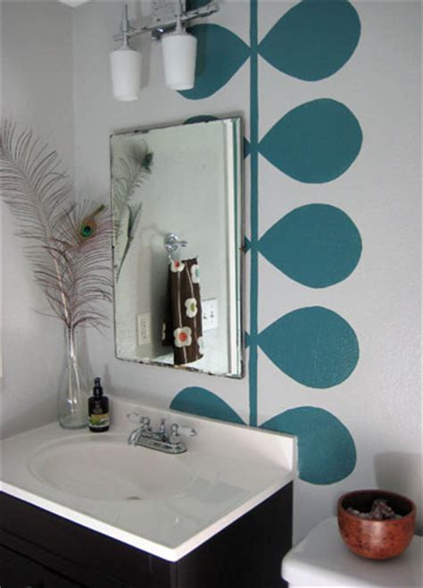 light teal bathroom ideas modern bathroom mural