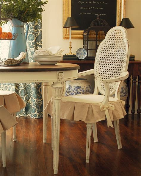 shabby chic dining chair slipcovers slipcovers for dining room chairs that embellish your
