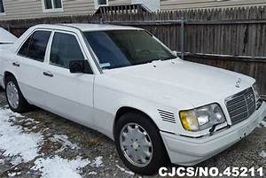 1995 Left Hand Mercedes Benz E Class White For Sale