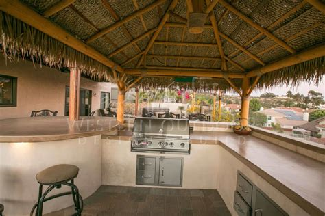 how to build a palapa san diego pavers outdoor kitchens bbq islands gallery by western pavers serving orange and south