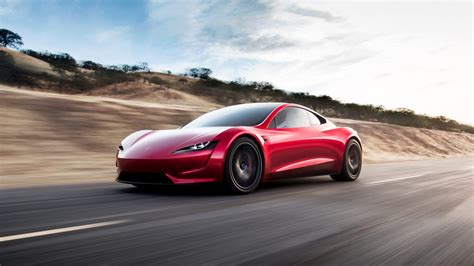 2020 Tesla Roadster Side High Resolution Image Autoweikcom