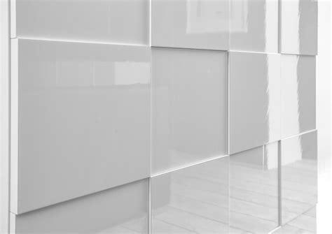 Treviso Sideboard  Three Doors High Gloss White Finish