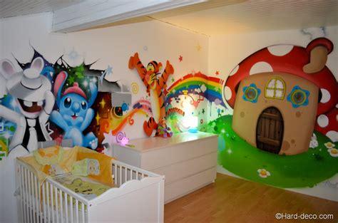 dessin mural chambre fille dessin chambre d enfant mur de dessin anim home decor