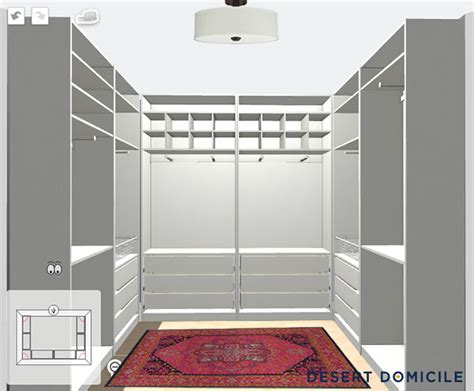 master closet plans desert domicile