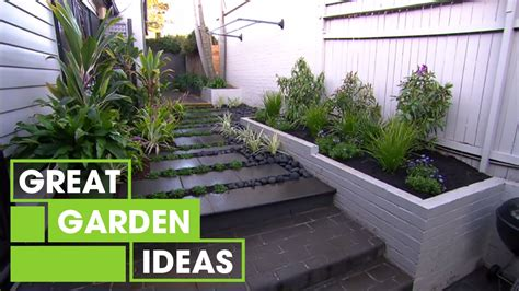 Garden Ideas by Inspirational Small Space Gardens Gardening Great Home