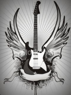 Animated Guitar Wallpaper - animated guitar mobile wallpaper mobile toones