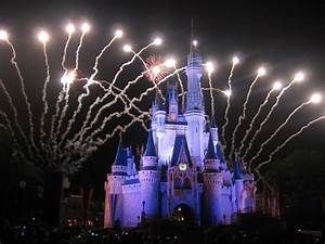 The gallery for --> Disney Castle With Fireworks Wallpaper