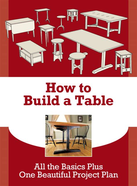 learn   build  table   furniture making skills