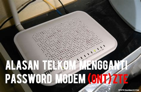 Hi , in this new video in this new video i show you how to chang. Alasan Telkom Mengganti Password Admin Modem ZTE Indihome!