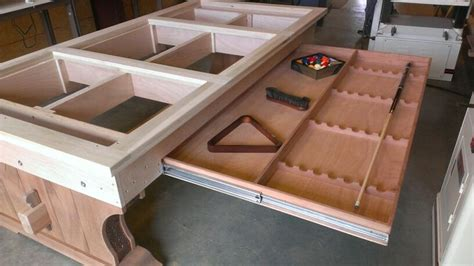 how to make a table l custom pool table build by tim mcclellan decorative