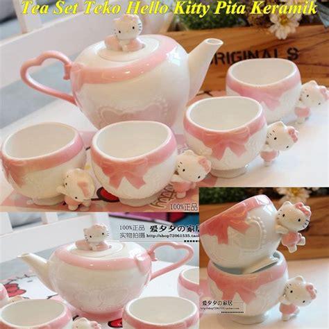 Teko Hello jual tea set teko hello pita keramik di lapak