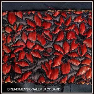 Stoff Mit Blumen : ausgefallene stoffe modestoffe spitzen blumen brokat in rot schwarz farbe glittereffekt ~ Watch28wear.com Haus und Dekorationen
