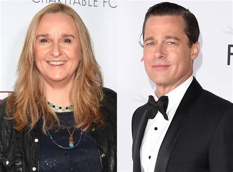 melissa etheridge stands   brad pitt  criticizes