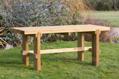 rebecca set outdoor bench set zest  leisure direct