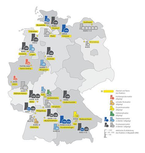 kernkraftwerke  deutschland