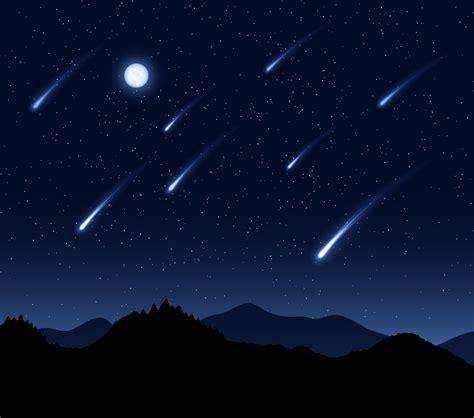 meteor shower wallpaper wallpapersafari