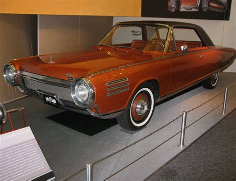 Chrysler Car : The Chrysler Turbine Car Started Out As A Ford