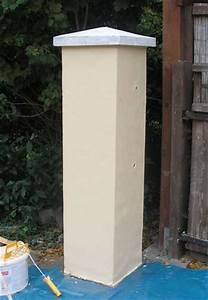 Einfahrtstor Selber Bauen : torpfosten verputzen ~ Lizthompson.info Haus und Dekorationen