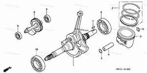 Honda Atv 2004 Oem Parts Diagram For Crankshaft Piston
