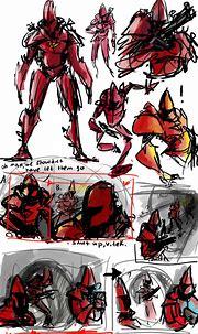 Crusader No Remorse, sketch 8 by Ayej on DeviantArt