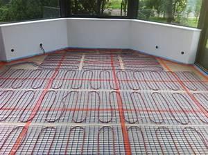 Plancher Chauffant Electrique : pose d 39 un plancher chauffant electrique dans une veranda ~ Melissatoandfro.com Idées de Décoration