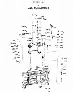 Canon 7 - Exploded View Owner U0026 39 S Guide