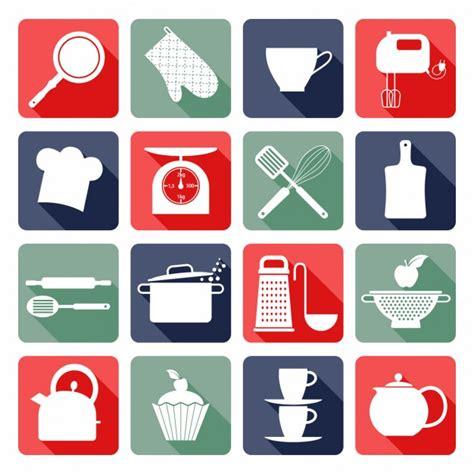 icone cuisine cuisine icônes plates télécharger des vecteurs gratuitement