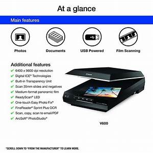 Review Epson B11b198011 Perfection V600 Color Document Scanner