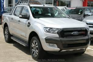 2017 Ford Ranger Wildtrak Silver
