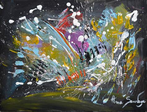 artiste peintre abstrait moderne tableau abstrait moderne pas cher sur toile