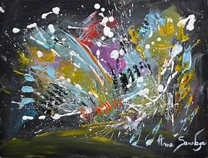Toile Peinture Pas Cher : tableau abstrait moderne pas cher sur carton toile ~ Mglfilm.com Idées de Décoration