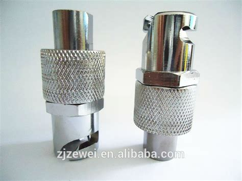 Pin Type Grease Fitting Coupler Without Ball Check