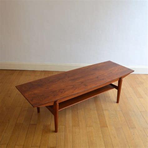 table de salon scandinave table basse de salon scandinave palissandre 1960s