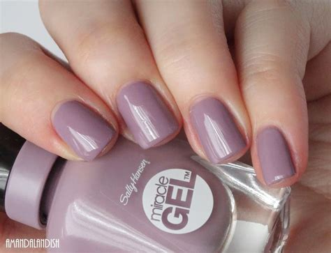 Sally Hansen Miracle Gel Swatches And