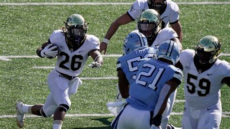 Wake Forest-Duke football game off due to positive COVID ...