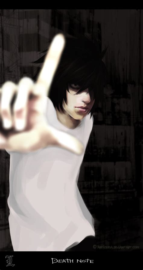 L Lawliet  Death Note  Mobile Wallpaper #562993