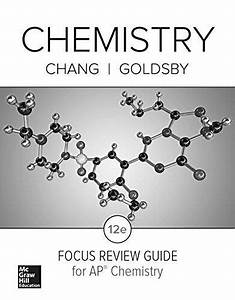 Chang  Chemistry 2016  12e  Ap Focus Review Guide  Ap By