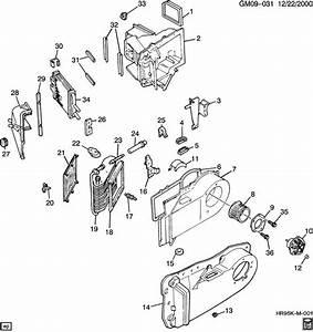 97 Cadillac Eldorado Heater Core