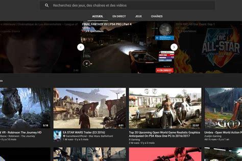 Youtube Lance Son Application Consacrée Aux Jeux Vidéo