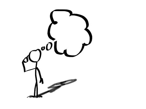 14806 student thinking clipart black and white image person thinking cliparts co