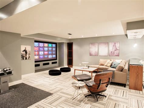 how to carpet a basement floor the family handyman basement flooring ideas freshome