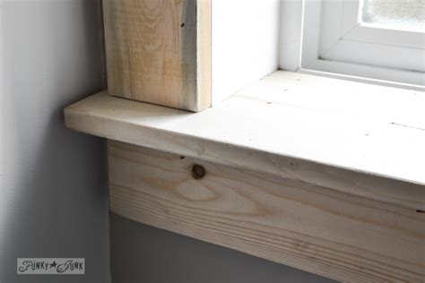 How To Make An Interior Window Sill by How To Install Window Sill Trim Mycoffeepot Org