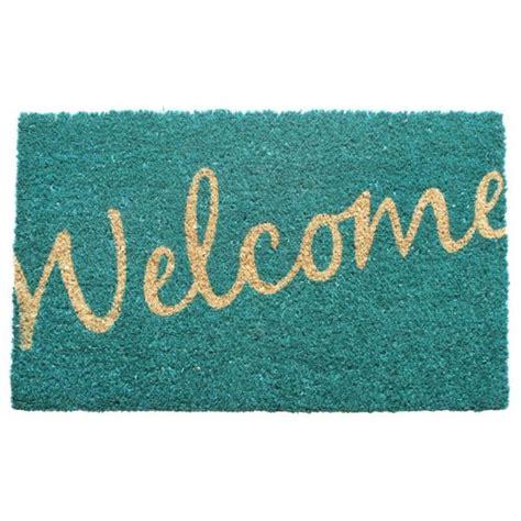 pretty doormats pretty welcome mat modern home coir doormat entry