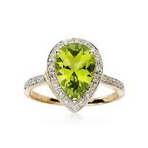 peridot wedding rings peridot rings for