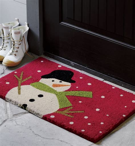Winter Doormats by 1000 Images About Doormats On