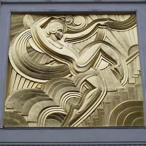Objet Art Deco : bas relief de maurice picaud dit pico 1928 th tre des flickr ~ Teatrodelosmanantiales.com Idées de Décoration