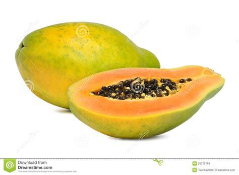 how to tell if a papaya is ripe ripe papaya stock images image 25375714