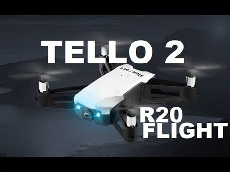 dji tello  realacc  flight test  mph wind review youtube