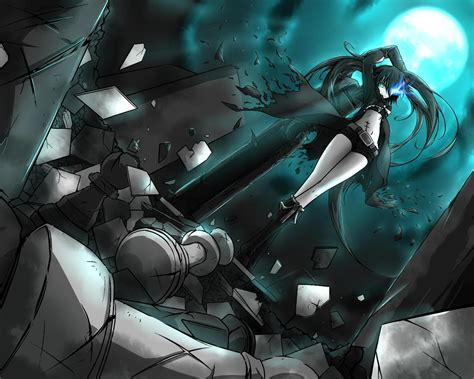 Rock Anime Wallpaper - black rock shooter wallpaper and background image